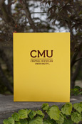 Gold Cmu 2-Pocket Folder