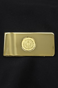 Central Michigan Gold Plated Money Clip
