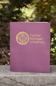 Maroon 2 Pocket Folder - Seal With Central Michigan University