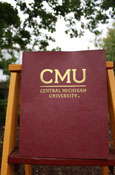 Maroon Cmu 2-Pocket Folder