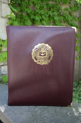 Zippered Central Michigan Seal Binder