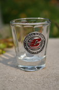 Shot Glass - Central Michigan Silver Medallion Shot Glass