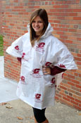 Central Michigan Recyclable Hooded Poncho