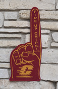 Flying C Fire Up Maroon Foam Finger
