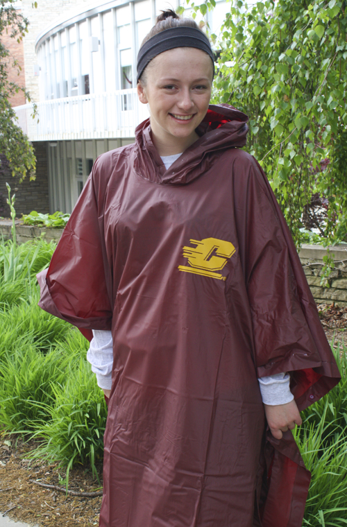 Adult Rain Poncho With Pvc Coating And Snap Closure (SKU 1165372160)