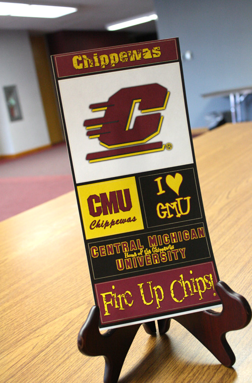 Central Michigan Chippewas Sticker Set (SKU 1168236320)