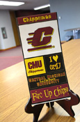 Central Michigan Chippewas Sticker Set