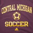 Central Michigan Sport Symbols Chippewas Adidas T-shirt