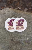 Cup Holder Central Michigan Car Coaster