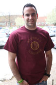 Maroon Central Michigan Shirt With Seal