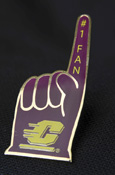 #1 Fan Action C Lapel Pin