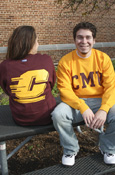 Crew - Maroon Or Gold With Cmu On Front And Flying C On Back