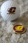Flying C Golf Ball And Ball Marker Set