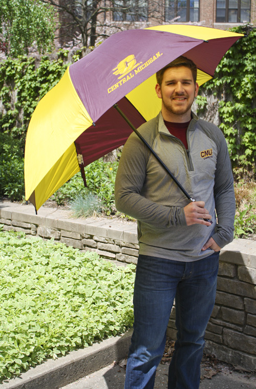 Maroon And Gold Flying C Central Michigan 62