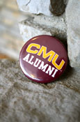 C M U Alumni Button