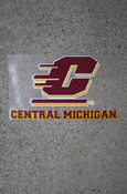 Flying C Central Michigan Decal Approx. 12X7""