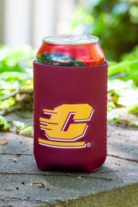 Flying C Maroon Can Koozie
