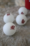 4 Pack Of Ping Pong Balls