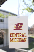 Flying C Central Michigan Luggage Tag
