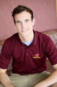 Men's College Of Medicine Maroon Flying C Polo
