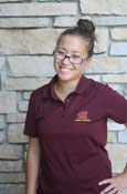 Ladies College Of Medicine Maroon Flying C Polo