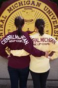 Spirit Jersey - Central Michigan Maroon Or Gold