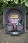Flying C Black Sonic Boom Headphones
