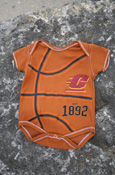 Flying C Est. 1892 Basketball Onesie With Central Michigan On Back