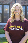 Central Michigan Distressed Unisex T-Shirt