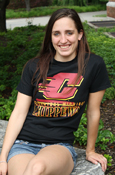 Flying C Central Michigan Chippewas Black T-Shirt