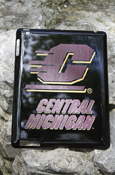 Flying C Central Michigan Protective Case For Ipad 2/3 - Black