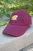Maroon Infants Baseball Cap With Flying C