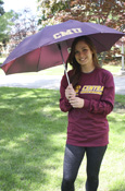 "Maroon Cmu 42"" Umbrella"