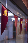 Flying C Maroon 30 Foot Strand Of Party Pennants