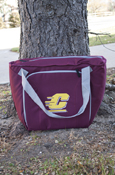 Flying C Maroon 30 Can Cooler