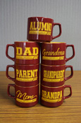 Mug - Maroon And Gold Central Michigan 1892