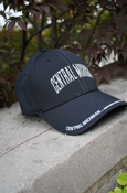 Black Central Michigan Reflective Stretch Fit Hat