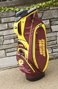 Maroon & Gold Central Michigan Golf Cart Bag