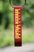 Central Michigan University Maroon Bottle Opener