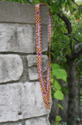 Chevron Flying C Central Michigan Lanyard