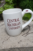 Mug - Central Michigan University With Thumb Rest