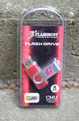 Flying C 8Gb Flashdrive Revolution With Central Michigan On Reverse