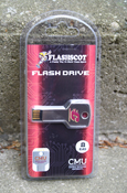 Flying C 8GB Flashdrive with CMU Logo on Reverse