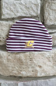 Striped Flying C Baby Cap