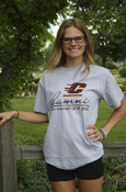 Gray Flying C Alumni Forever Maroon & Gold T-Shirt