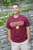 Maroon Chippewas Central Michigan T-Shirt