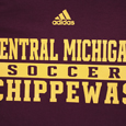 Adidas Central Michigan Sport Chippewas T-shirt
