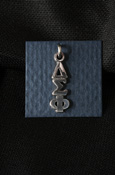 Delta Sigma Phi Sterling Silver Lavalier