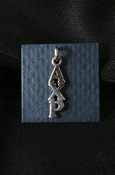 Alpha Chi Rho Sterling Silver Lavalier