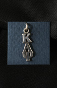 Kappa Alpha Psi Sterling Silver Lavalier